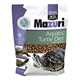 Mazuri | Nutritionally Complete Aqautic Turtle Food | Freshwater Formula - 12 Ounce (12 oz) Bag
