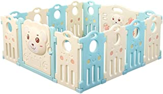 DZWSD Baby Plastic Playpen Play Yard  With HDPE environmentally friendly material Home Indoor  amp  Outdoor Play Center Kids Activity Center Safety  nbsp  Multi size