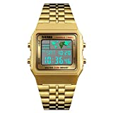 Mens Boys World Time Quartz Watch Digital Watch Sports Watch...