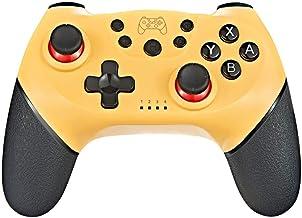 Andoer Controlador de joystick de jogo sem fio Bluetooth com controle de jogo com cabo de 6 eixos compatível com console S...