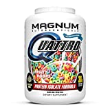 Magnum Nutraceuticals Quattro Fruity Hoops Protein Powder for Men & Women (4 lbs.)