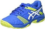 ASICS Gel-Blast 7 GS, Chaussures de Handball Mixte Enfant, Bleu (Directoire Blue/Energy Green/White), 34.5 EU