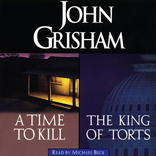 A Time to Kill & The King of Torts audiobook cover art