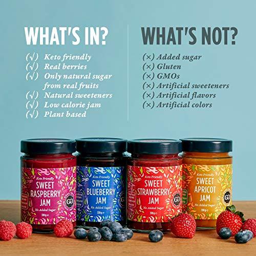 Product Image 3: Keto Friendly Sweet Strawberry Jam
