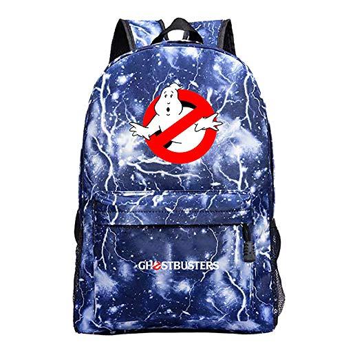 Ghostbusters Freizeitrucksack Mode Wilder Rucksack beiläufige Schule Rucksack Computer-Rucksack Sport-Reisetasche Daypack Unisex (Color : A18, Size : 42 X 30 X 12cm)