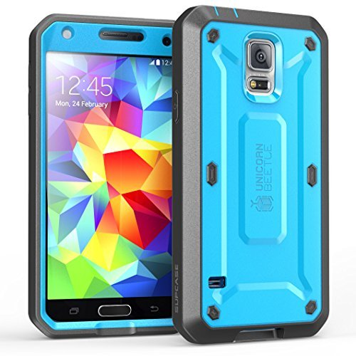 galaxy s5 cases with designs amazon comgalaxy s5 case, supcase [heavy duty] [unicorn beetle pro series] full