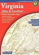 Virginia Atlas & Gazetteer (Delorme Atlas & Gazetteer)