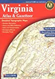Virginia Atlas & Gazetteer (Delorme Atlas &...