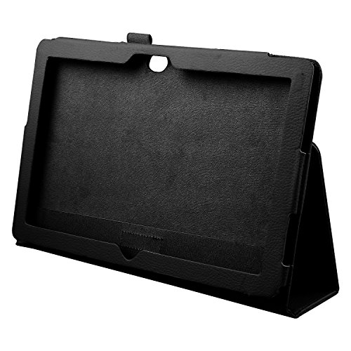 Ctzrzyt Funda de Cuero con Soporte para Tableta Surface 10.6 Windows 8 RT, Negra