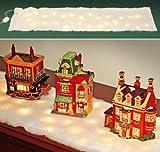 Kovot LED Snow Holiday Decor (Snow Table Runner)