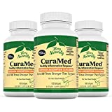 Terry Naturally CuraMed 750 mg (3 Pack) - 120 Softgels - Superior Absorption BCM-95 Curcumin Supplement, Promotes Healthy Inflammation Response - Non-GMO, Gluten-Free, Halal - 360 Total Servings