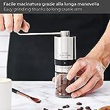 Zoom IMG-1 silberthal macina caffe manuale macinacaffe