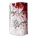 Skin Decal Vinyl Wrap for Smok T-Priv 220W TC Vape Stickers Skins Cover/Blood Splatter Dexter