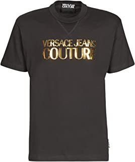 Versace Jeans Couture B3gva7ea T-Shirts & Polo Shirts Men Black/Gold - XS - Short-Sleeved T-Shirts Shirt