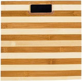 UYZ Báscula de baño Profesional Diseño de bambú Natural Báscula de Deslizamiento de Piso para el hogar Báscula de Peso Digital electrónica Duradera