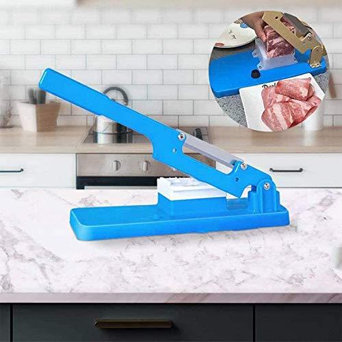 ZYANUGR Nueva cortadora de Mesa Multifuncional 2021, cortadora de Verduras portátil, cortadora de Carne, cortadora de fiambres para Cocina casera