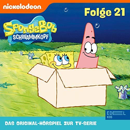 SpongeBob Schwammkopf 21. Das Original-Hörspiel zur TV-Serie Titelbild