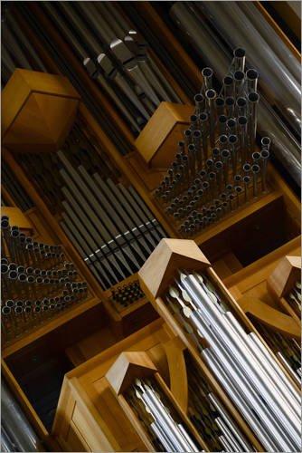 Póster 60 x 90 cm: Organ Musical Instrument de Editors Choice - impresión artística, Nuevo póster artístico