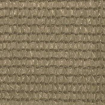 vidaXL Tapis de Tente Tapis de Camping Tapis d'Auvent de Caravane Voyage Patio Extérieur avec ¼illets Intégrés aux Quatre Coins 300x600 cm Taupe