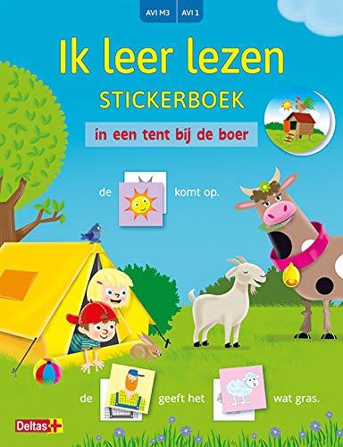 Ik leer lezen Stickerboek - In een tent bij de boer (AVI M3 / AVI 1)