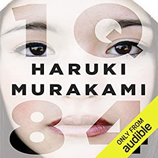 1Q84 audiobook cover art