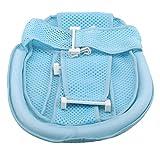 EMFGJ - Soporte para bañera de bebé para bebé, antideslizante, para asiento de baño de bebé, cómoda hamaca de seguridad, color azul