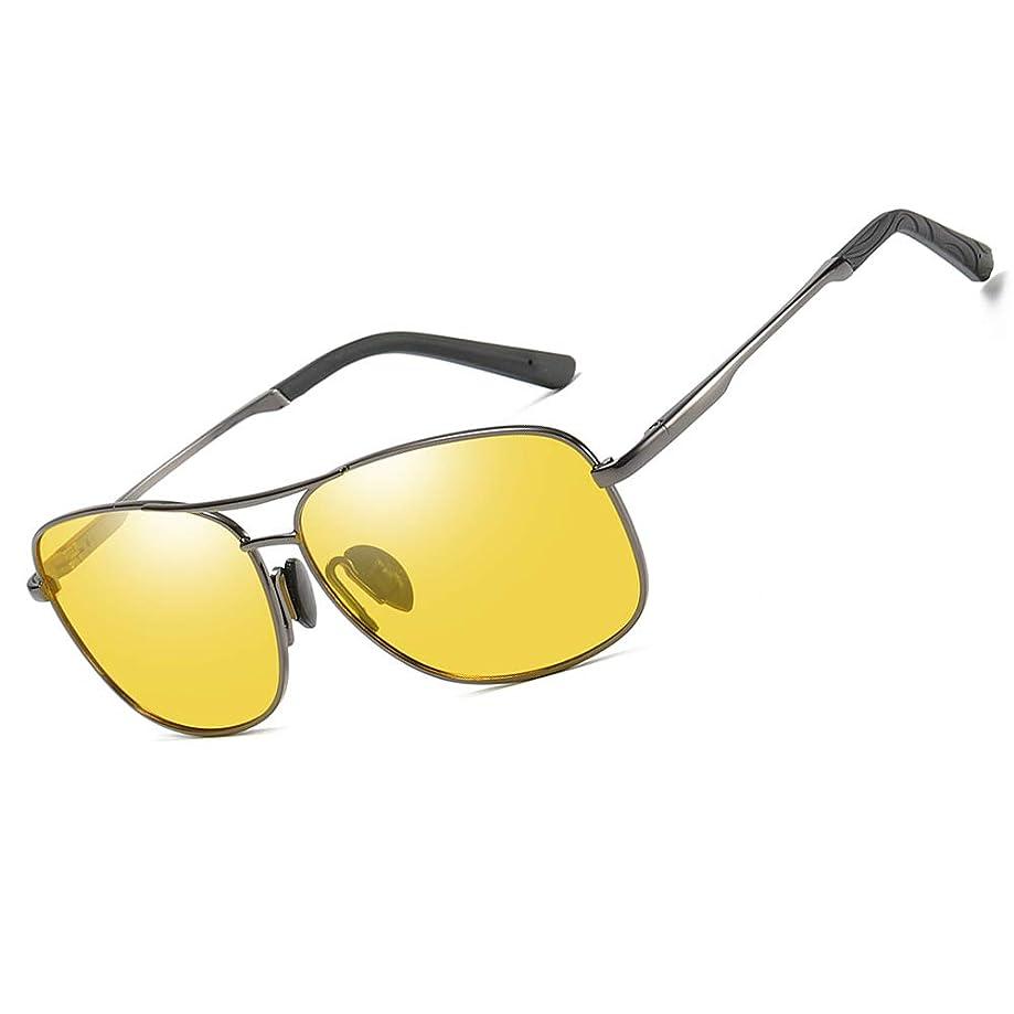 HD Night Vision Glasses for Driving Polarized Sunglasses Anti-Glare Safe Night Driving Glasses for Men Women