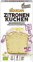 Biovegan Kuchenbackmischung Zitrone