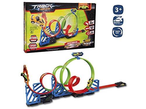 Juinsa-96051 Pista Looping 360 Grados+1 Coche, Multicolor (96051)