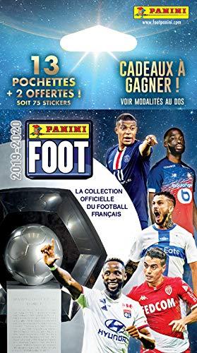 Panini France SA-Panini Fußball 2019/20 Blister 13 Taschen + 2 gratis, 2536-020