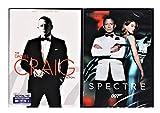 Spectre, Skyfall, Casino Royale DVD & Quantum of Solace James Bond Set Pack 007 Daniel Craig Collection 007 Set