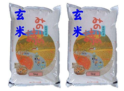 福島県産 玄米 石抜き処理済 チヨニシキ 10kg(5kg×2袋) 令和元年産