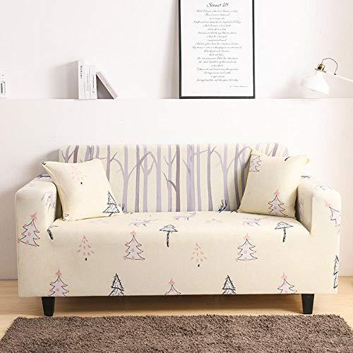 HXTSWGS Funda de sofá Antideslizante,Funda de sofá elástica, Funda de sofá de Banco de Silla elástica, Funda Protectora de Perro mascota-Color34_235-300cm