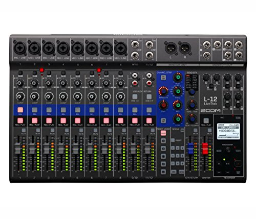 Zoom LiveTrak L-12 Digital Mixer...