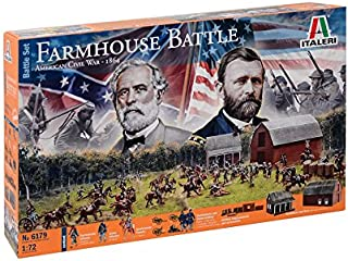 Italeri 6179–Farmhouse Battle–American Civil War 1864–Model Kit–1: 72Scale