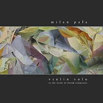 Violin Solo 4 - Milan Pala