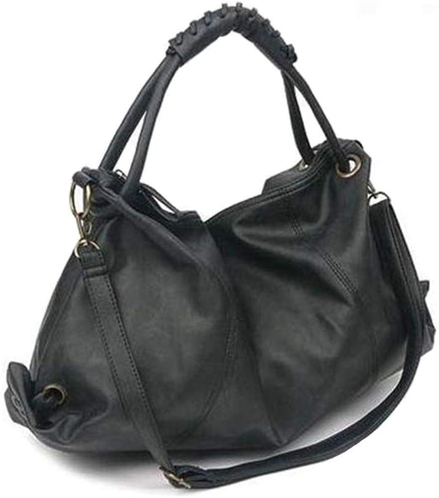 Women's Handbag And Purses Fashion PU Leather Hobo Bag Ladies Top-handle Shoulder Bag