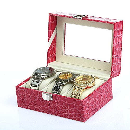 Reloj Monitor Caja Fácil a Limpiar/Rojo / 15.5x11x8cm