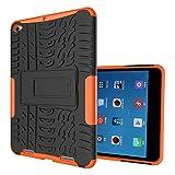 FullProtecter Xiaomi Mi Pad 2 Hülle,Bumper Cover Schutz Tasche Handyhülle Schutzhülle Silikon TPU+PC Hardcase für Xiaomi Mi Pad 2(Orange)