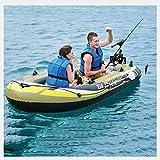ACEWD Canoa Hinchable 2 Plazas, Canoa Hinchable Pequena, Balsa Hinchable Piscina, Kayaks Hinchables, Botes Inflables, Canoa, Barcos,2 Person