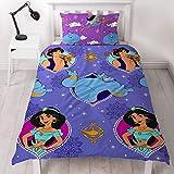 Aladdin, copripiumino singolo e federa, multicolore