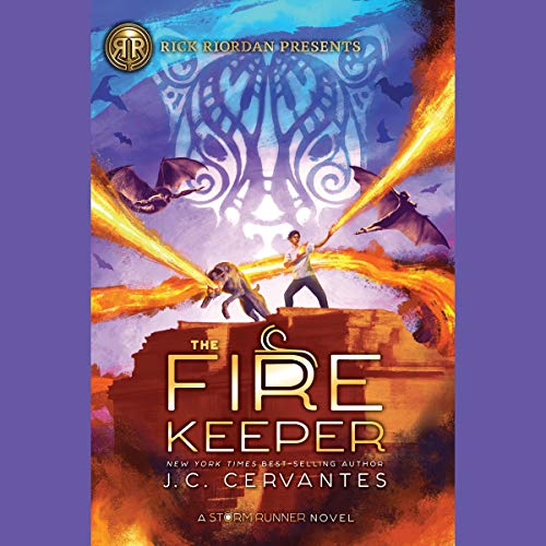 The Fire Keeper audiobook cover art
