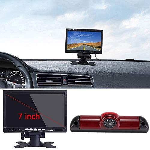 7883B/7883-DJT, 12 mm oude lenzen + 7 inch LCD-monitor.