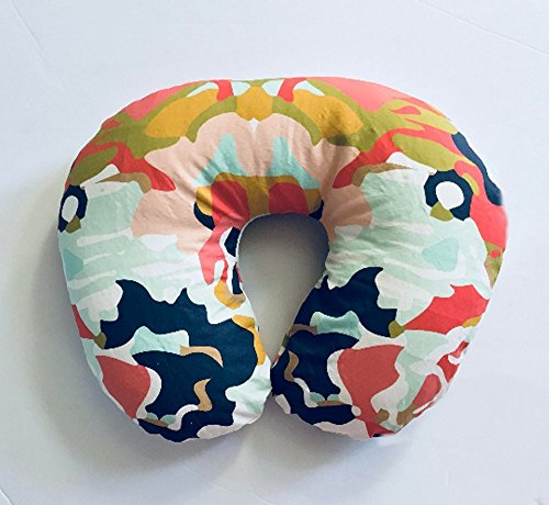 Nursing Pillow Cover - Coral Jubilee