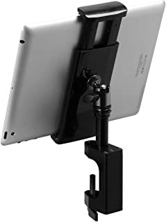 On-Stage Grip-On Universal Device Holder with U-Mount Mounting Post TCM1908 with U-Mount Bullnose Clamp