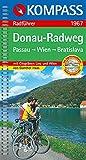 Donau-Radweg Passau - Wien - Bratislava: Radführer mit Top-Routenkarten und City-Plänen Linz und Wien