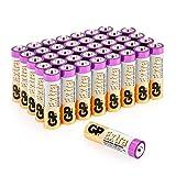 GP Piles AA 1.5V / Piles LR6 / MN1500 / AM3 - Lot de 40 - Extra alcaline Batterie