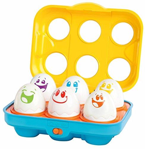 Bright Starts Juguete Educativo y de Estimulación Temprana Put 'n Shake Eggs