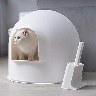 Pidan PD1001W1 Igloo Cat Litter Box,