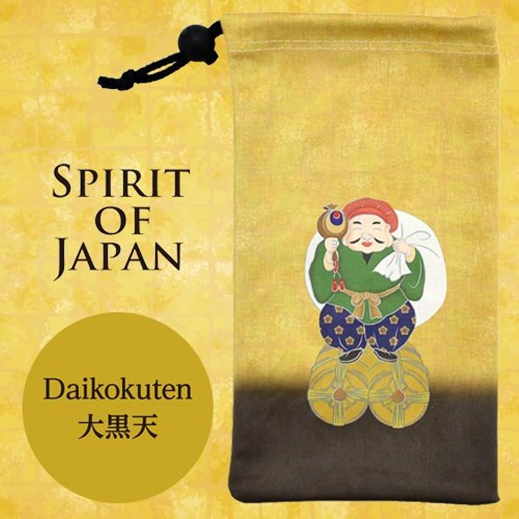 グラフィック真剣に放出Spirit of Japan クリーナーポーチ 大黒天 SJ-CP06
